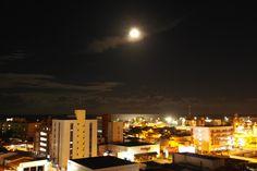 Noite de Lua Cheia em Manaíra, João Pessoa-PB - Brasil
