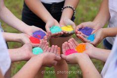 Photoshoot, Powder Paint, Fun, Colours