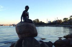 The Little Mermaid -statue in Copenhagen, 2015 Little Mermaid Statue, The Little Mermaid, Art Articles, Copenhagen Denmark, Riding Helmets, Travel, Viajes, Destinations, Traveling