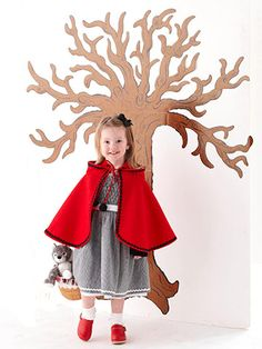 Learn how to make this fairy-tale costume for your little one: http://www.bhg.com/halloween/kids-costumes/little-red-riding-hood-costume/