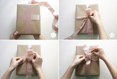 Tutorial: How to wrap a perfect present | Flights of Fancy