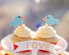 Edible Fat Bird Cupcake Topper by SwtLvndrBkeShpe on Etsy, $14.00