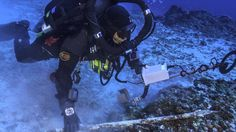 This video takes you onto the Antikythera shipwreck, deeper than 50 metres beneath the surface, a time capsule for more than 2000 years.