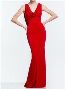 Luxurious Sheath Beading Back Floor Length Evening Dress