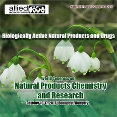 Biologically Active Natural Products and Drugs   Biologically Active #Natural Products have been proven to be a profound resource on the development of natural product chemistry and upon the medical sciences.