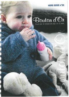 Albums archivés Knitting Magazine, Crochet Magazine, Knitting Patterns, Sewing Patterns, Baby Knitting, Knit Crochet, Catalog, Children, Books
