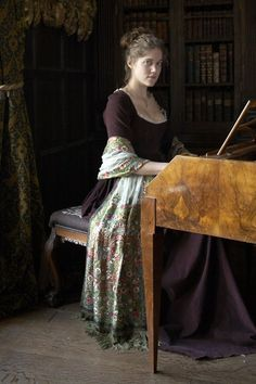 Charity Wakefield as Marianne Dashwood in Sense and Sensibility (TV Mini-Series, 2008).