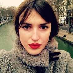Dolce & Gabbana Matte Lipstick in Dolce Lover, $37 (out in April); For information: dolcegabbana.com - Photographed by Jeanne Damas