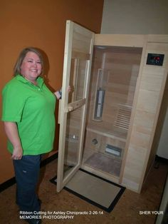 Infrared Sauna at Ashley Chiropractic