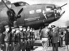 B-17 Flying Fortress bomber, \'Memphis Belle\'