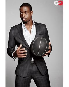 Dwyane Wade- taking his style tips. The man of Miami Since '03 and after Alonzo.