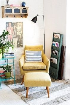 Creating A Cozy Corner • Kelly Bernier Designs