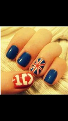One direction nails- i'd have to do irish flag and colors on the other hand for niall