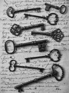 More Vintage Skeleton Keys
