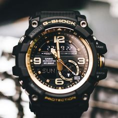 G-Shock GG-1000GB-1A Black & Gold Mudmaster