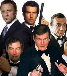James Bond  007 - - Indo além da caixinha: 5 Fandom friday: Pessoas que eu quero ao meu lado durante um Apocalipse - People You Want on Your Side During an Apocalypse