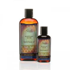 Egyptian Musk Bath & Body Oil | Certified Organic