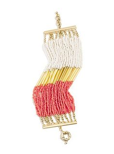 Multi-Strand Seed Bead Bracelet   GUESS.com