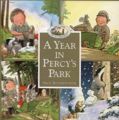 A Year in Percy's Park by Butterworth Nick Percy The Park Keeper, Butterworth, Every Day Book, Book Summaries, Best Selling Books, Ibs, Book Authors, Early Learning, Childrens Books