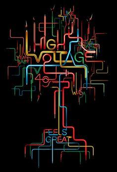 High Voltage -  by Vault49