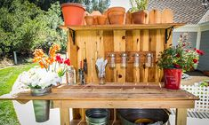 Home & Family - Tips & Products - DIY Potter's Bench | Hallmark Channel