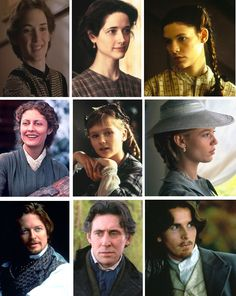"""Winona Ryder (Josephine """"Jo"""" March), Trini Alvarado (Margaret """"Meg"""" March), Claire Danes (Elizabeth """"Beth"""" March), Susan Sarandon (Mrs. March), Kirsten Dunst (Younger Amy March), Samantha Mathis (Older Amy March), Eric Stoltz (John Brooks), Gabriel Byrne (Friedrich Bhaer) & CHRISTIAN BALE (THEODORE """"LAURIE"""" LAURENCE) - Little Women directed by Gillian Armstrong, 1994 - #louisamayalcott"""