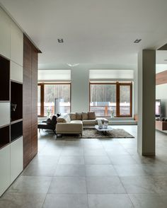 Spacious Home Outside of Kiev by Prodan Design (4)
