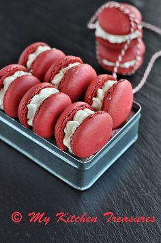 Macaron With Cacao Butter Cream