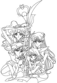 Outer Sailor Senshi Blank by sailor-jade-iris