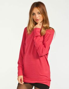 FULL TILT Essential Womens Cozy Crew Sweatshirt