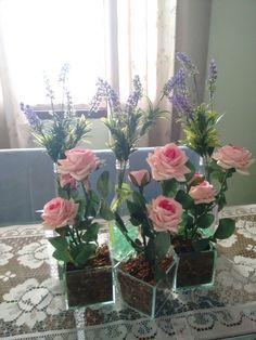 Rosas e alfazemas