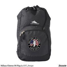 Hillary Clinton US Flag Backpack