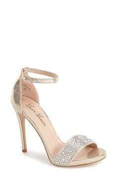 Lauren Lorraine 'Arielle' Ankle Strap Sandal (Women) available at #Nordstrom