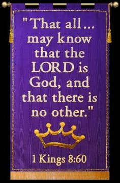 Shop Finest Fabric Church Banners hand made in the USA Church Banners Designs, Royal Blue Background, 1 Kings, Bible Quotes, Bible Verses, Direct Lighting, Memory Verse, Banner Printing, Banner Design