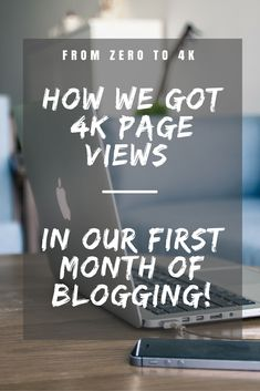 All the secrets to how we got our first 4K page views - in our very first month…
