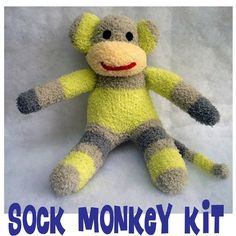 DIY sock monkey :)