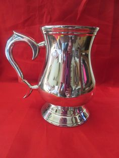 Y.C EPNS Silver Plated Tankard by VintageRetroTreasues on Etsy