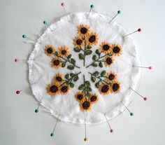 fiberluscious: Blocking your Embroidery