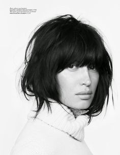 Publication: Vogue Netherlands October 2014 Model: Sabrina Ioffreda Photographer: Ward Ivan Rafik Fashion Editor: Darcy Backlar Hair: Laurent Philippon Make-up: Marie Duhart Nails: Charlene Coquet