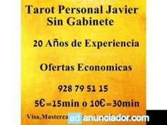 Tarot Personal con Javier.Sin Gabinete - Adanunciador.com   Tu sitio de anuncios clasificados gratis - anunciador espa�a