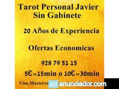 Tarot Personal con Javier.Sin Gabinete - Adanunciador.com | Tu sitio de anuncios clasificados gratis - anunciador espa�a
