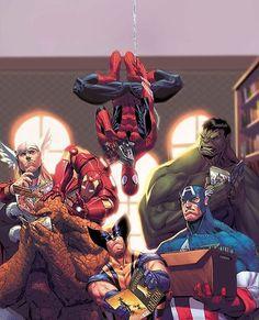 Avengers by Jorge Molina