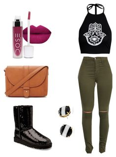 """""""Untitled #10"""" by jerriyah-alanasia on Polyvore featuring UGG Australia, Forever 21 and Kate Spade"""