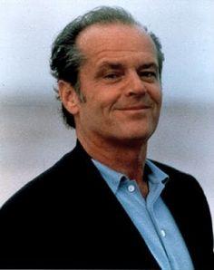 Jack Nicholson. He's weird but he'll still always be so cool...