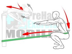 Joint Distraction for the Hips #PreHabExercises Improve the depth of your squat and the Range of Motion in lunges and Step-Ups with this Joint Distraction exercise.   Hip Mobility is integral to good alignment and Movement Efficiency therefore it's recommended to take the time to improve the Range of Motion in your hips!  #PreHab #PrepareToPerform Here's how:  HIPS: DEEP SQUAT  HIP FLEXION   Benefits: This Joint Distraction exercise aligns the arthrokinematics and creates more space in the…