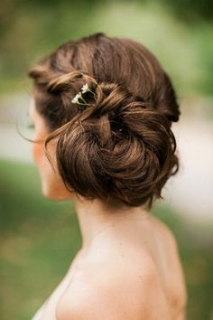 Casual New York Wedding at The Inn at West Settlement from Fabrice Tranzer - wedding hairstyle