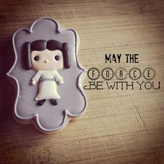 Star Wars Leia cookie