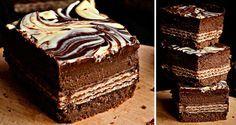 Tvarohový slavnostní řez - Černý princ | NejRecept.cz Fondant Flower Cake, Fondant Bow, Fondant Tutorial, Oreo Cupcakes, Fondant Cupcakes, Chocolate Fondant, Modeling Chocolate, Baking Recipes, Cake Recipes