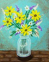 Country Flowers. New for May 2014