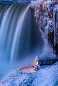 Journey Behind The Falls - Here's another shot and a closer look of this viewing platform for the Journey Behind the Falls at Niagara Falls, Canada. Have a great day everyone!